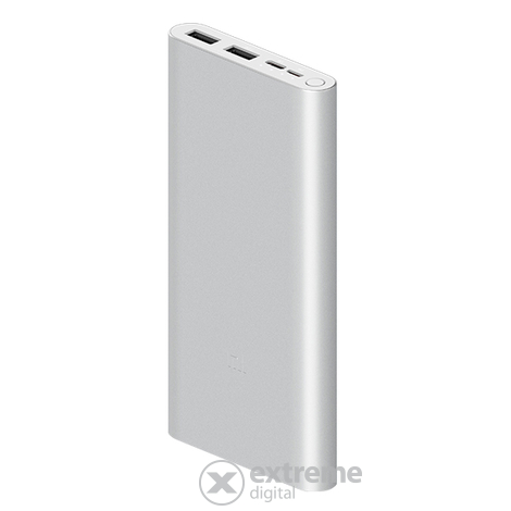 Xiaomi Mi 18W Fast Charge Power Bank 3 10000mAh, srebrni (VXN4273GL)