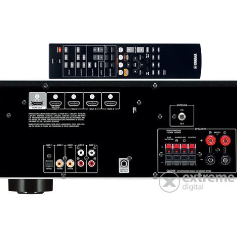Yamaha HTR-2067 5.1 házimozi erősítő fekete színben  92e401095a