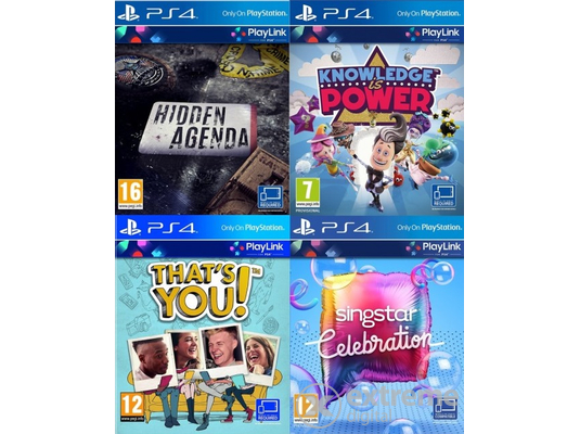 PlayLink Collection PS4 játékszoftver