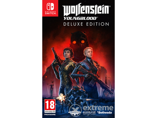 Wolfenstein Youngblood Deluxe Edition Nintendo Switch játékszoftver