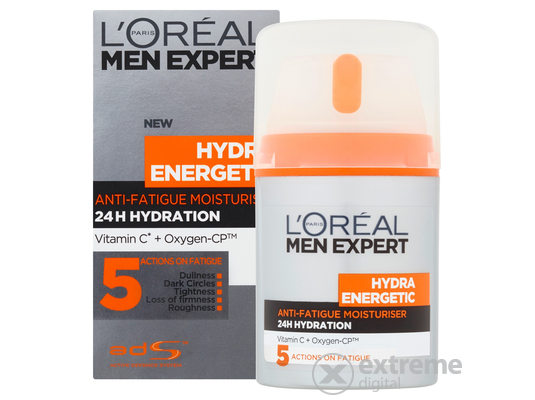 L`Oréal Paris Men Expert Hydra Energetic revitalizáló arckrém, 50 ml