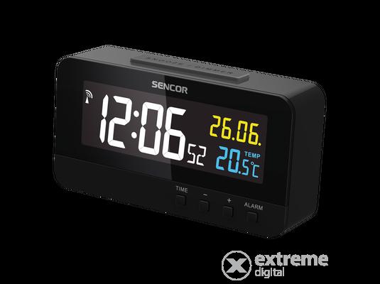 Sencor SDC 4800 B Digitális ébresztőóra hőmérővel 22bb3dbc1c