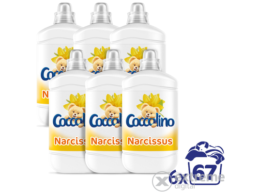 Coccolino Narcissus öblítő, 6x1680ml