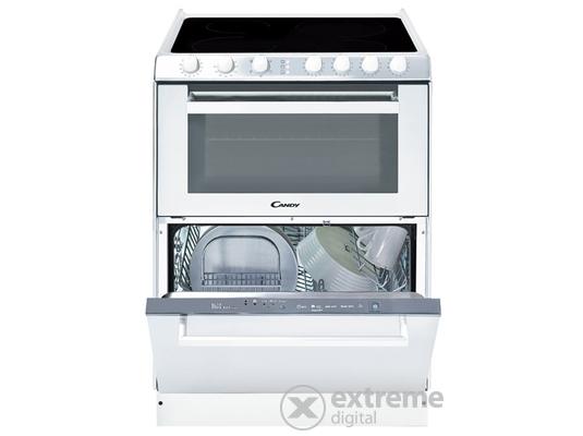 Candy TRIO 9503/1 W 2in1 tűzhely és 6 terítékes mosogatógép