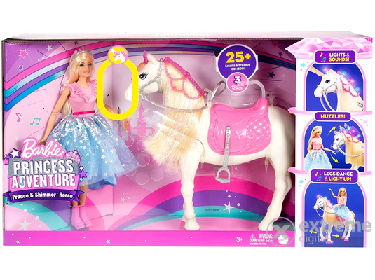 Barbie Princess Adventure varázslatos paripa