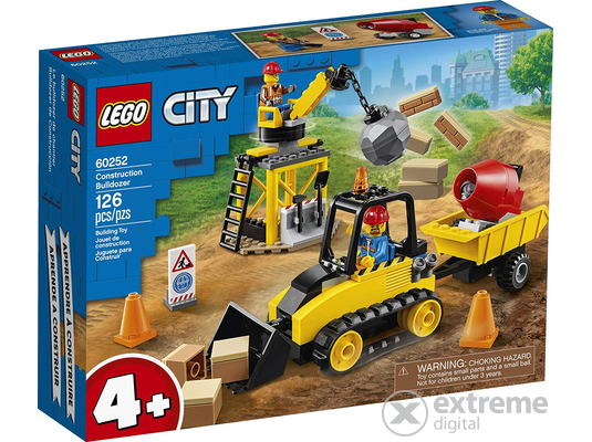 LEGO® City Great Vehicles 60252 Építőipari buldózer