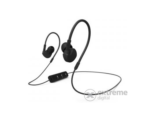 Hama Clip-On bluetooth sport headset, fekete