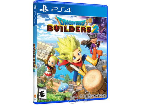 Dragon Quest Builders 2 PS4 játékszoftver