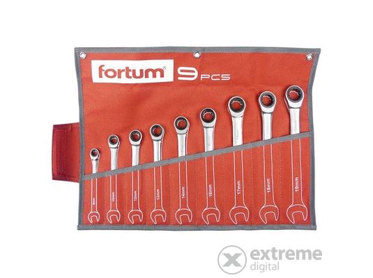 Fortum (4720104) račňová sada očko-vidlicových klúčov