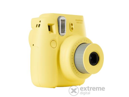 Fujifilm Instax Mini 8 analóg fényképezőgép, sárga
