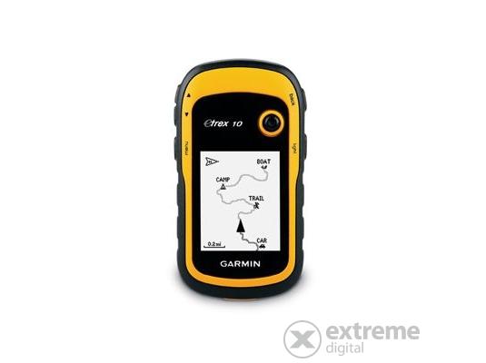Garmin eTrex 10 szabadidős túranavigáció