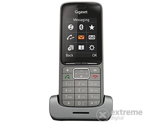 Gigaset SL750H PRO vezeték nélküli (DECT) IP telefon (bázisállomás nélkül!), üzleti (B2B) és otthoni környezetbe, grafit