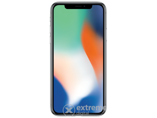 Apple iPhone X 256GB (mqag2gh/a), ezüst