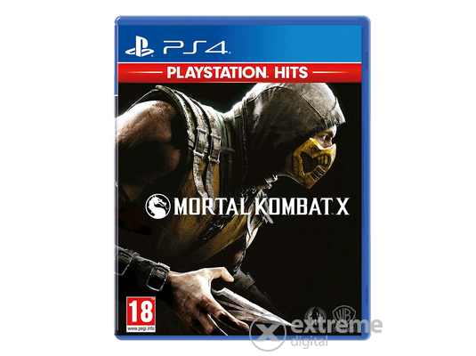 Mortal Kombat X Playstation Hits Edition PS4 játékszoftver