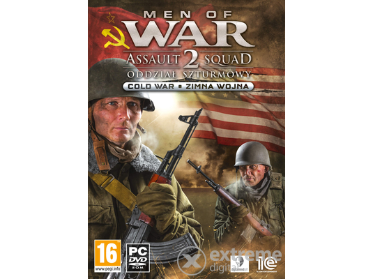 Men of War: Assault Squad 2 Cold War PC játékszoftver