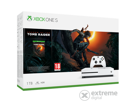 179afb0a7 -36%. Microsoft Xbox One S 1TB herná konzola + Shadow of Tomb Raider hra.  204,90 € 324,00 € (-36%)