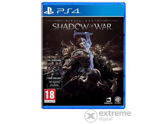 Middle-Earth: Shadow Of War PS4 játékszoftver