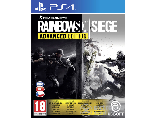 Tom Clancy´s Rainbow Six Siege Advanced Edition PS4 játékszoftver