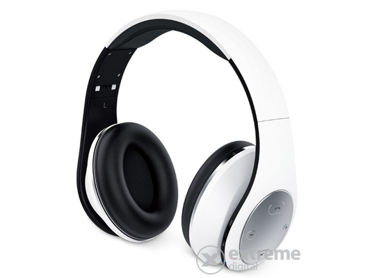 Genius HS-935BT Headset White mikrofonos bluetooth fejhallgató 8c8e344692