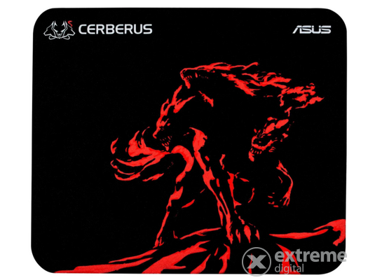 Asus Cerberus MAT MINI RED gamer egérpad