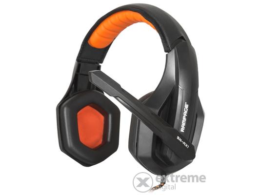 Rampage SN-RX1 gamer mikrofonos fejhallgató 2dd513f283