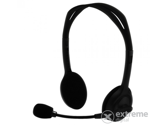 Silverline HS-11V mikrofonos fejhallgató hangerőszabályzóval 70777b9322