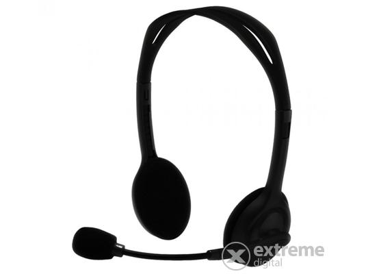 Silverline HS-11V mikrofonos fejhallgató hangerőszabályzóval 3cf5ae8754