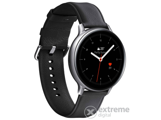 Samsung Galaxy Watch Active 2 okosóra (44mm, Stainless Steel), ezüst
