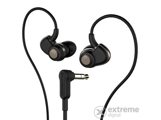 SoundMAGIC PL30+ In-Ear fülhallgató Fekete-Szürke