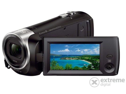 Sony HDR-CX405 videokamera, fekete