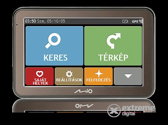 """Mio Spirit 7500 5"""" BS térkép nélküli navigáció"""