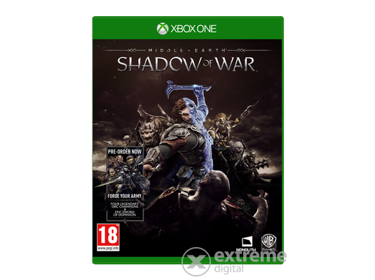 Middle-Earth: Shadow Of War Xbox One játékszoftver