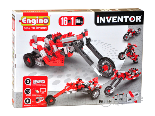 Engino Inventor motorok 16 in 1